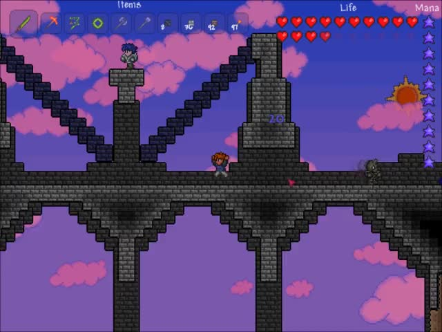 Watch and share Terraria GIFs and Indie GIFs by pusclfer on Gfycat