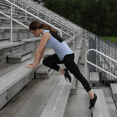 Watch and share 400x400 Stair Workout Mountain Climbers GIFs on Gfycat