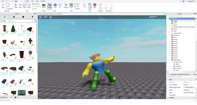 Watch and share Super Emote Maker Lolololol (MY PLACE ONLY) - Roblox Studio 2019-10-07 18-05-57 GIFs on Gfycat