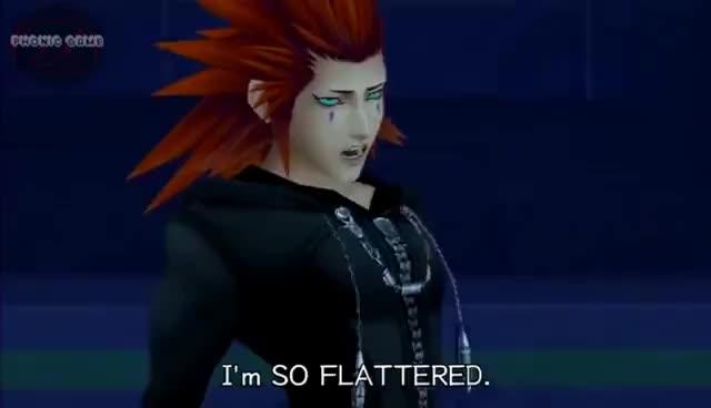 Watch and share I'M SO FLATTERED!   Kingdom Hearts 2.5 HD [CUSTOM BGM] GIFs on Gfycat
