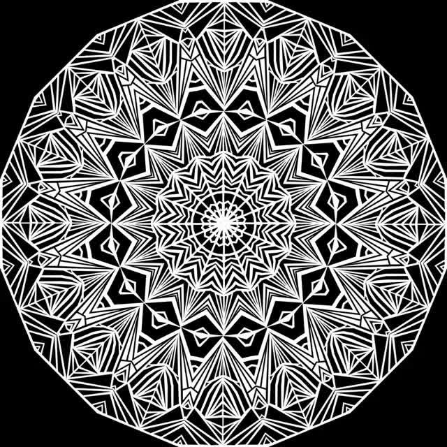 Watch and share Kaleidoscope 2 GIFs by Groovy Trips on Gfycat