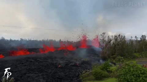 Watch and share Volcano Fissure GIFs on Gfycat