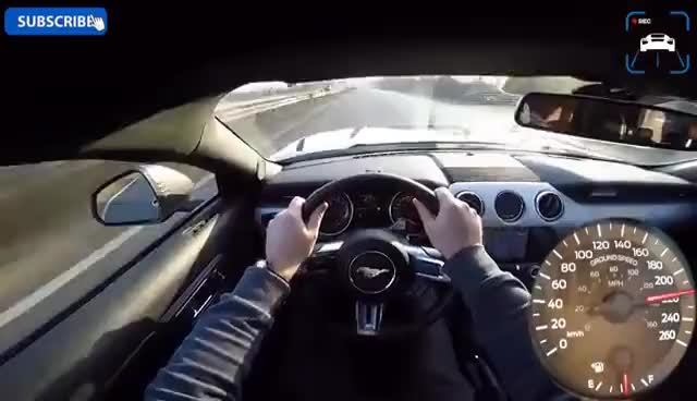 Ford Mustang Gt  Acceleration Top Speed Pov Autobahn Test Drive By Autotopnl Ford Mustang