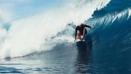 Watch Stephanie Gilmore. Curl.via roxy GIF on Gfycat. Discover more 2015, Indo, Indonesia, Roxy, SURPHILE, Steph Gilmore, Stephanie Gilmore, barrel, curl, deep, gif, grab rail, ocean, rise, surf, surfer, surfing, tube ride, wave GIFs on Gfycat