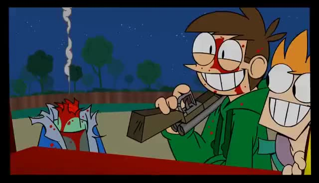 Watch and share Eddsworld GIFs and Killing GIFs on Gfycat