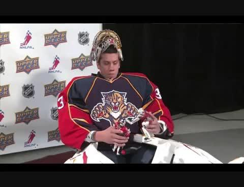 Jacob Markström, hockey GIFs
