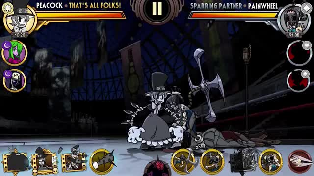 Watch Peacock Combo Contest GIF by Skullgirls Mobile (@sgmobile) on Gfycat. Discover more Skullgirls, Skullgirls Mobile, sgmobile GIFs on Gfycat