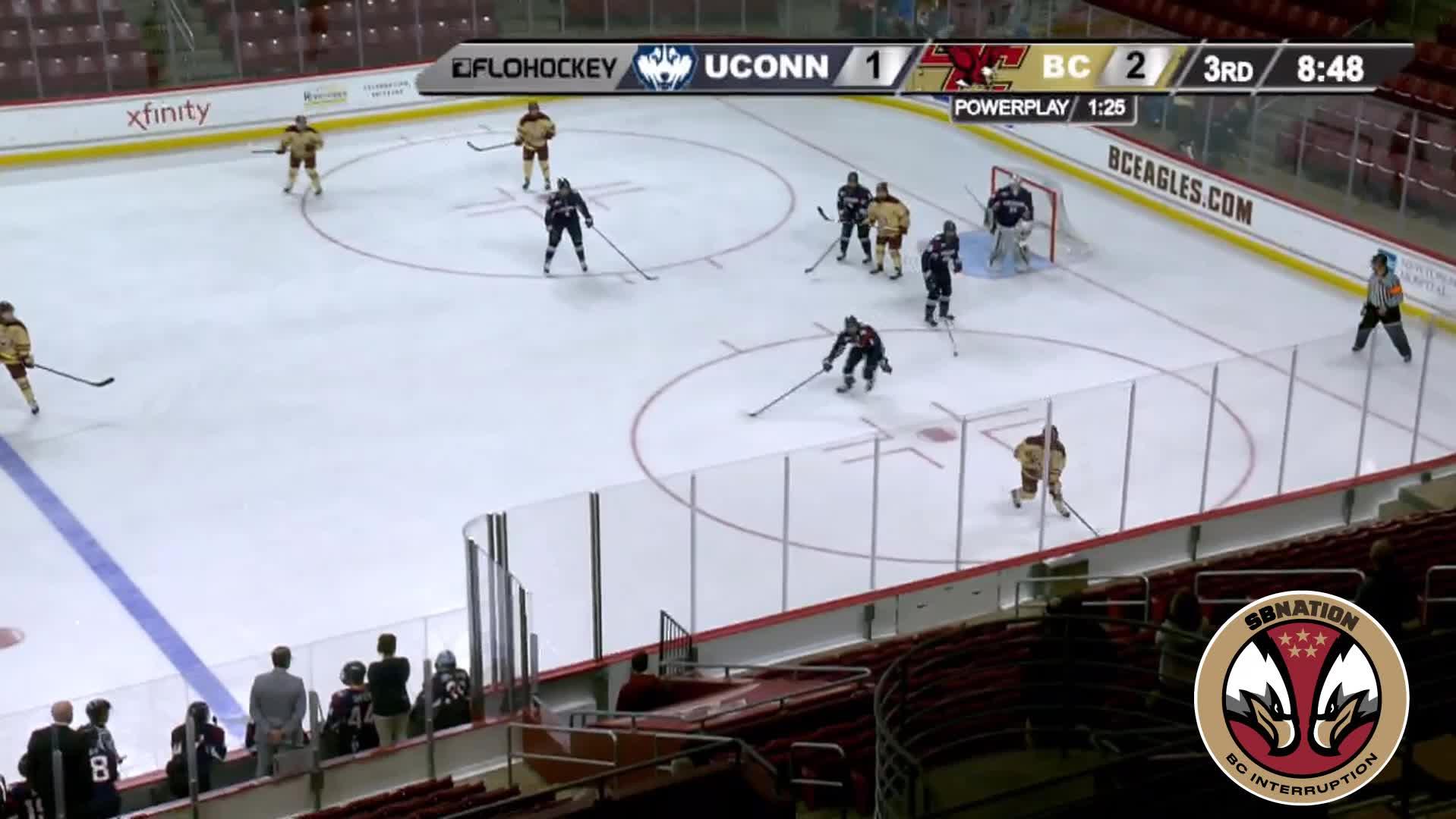 hockey, 4 Keller (W) UConn 3/1/19 GIFs