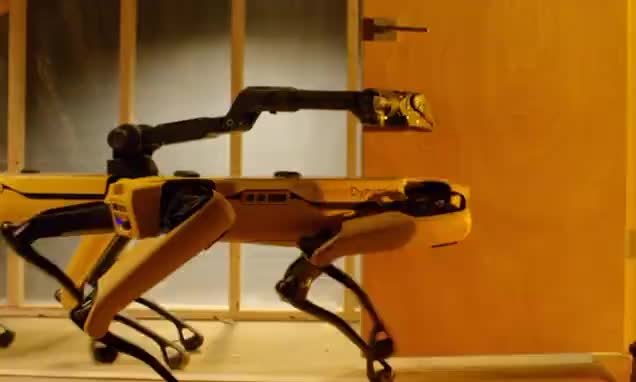 Watch and share Boston Dynamics GIFs and Robot GIFs by Vinegret on Gfycat