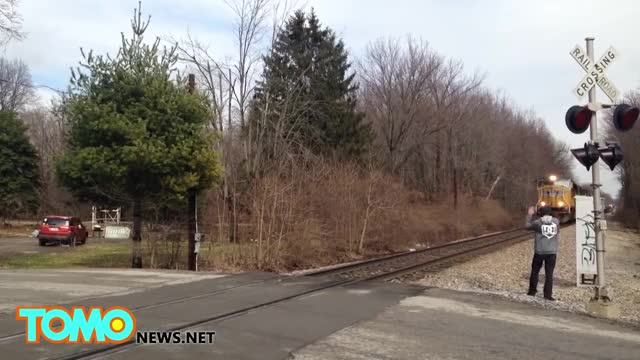 Watch Train crashes into car: Fatal accident captured on video by Kentucky trainspotters GIF on Gfycat. Discover more caught on video, nma, tomonews GIFs on Gfycat