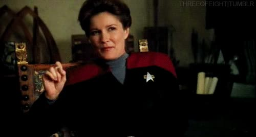 Watch and share Janeway GIFs on Gfycat