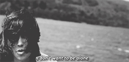 Alone Feel I Dont Want To Be Alone Gif Find Make Share