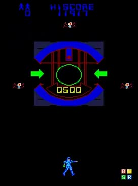 Watch and share TRON ARCADE GAME 1982 BALLY MIDWAY Retro Oldskool Video Game GIFs on Gfycat