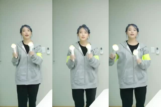 Watch and share IU - Triple Iu -Bleuming Fanchant GIFs by revive on Gfycat