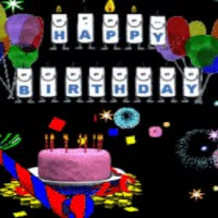 Watch and share Cake Birthday Candles Emoticon Emoticons Animated Animation Animations Gif GIFs on Gfycat