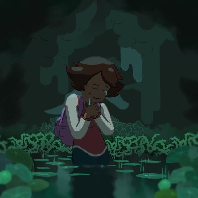 Watch Ivy Cry GIF by @flashfastblack on Gfycat. Discover more animation, ivysuperidol, sad GIFs on Gfycat