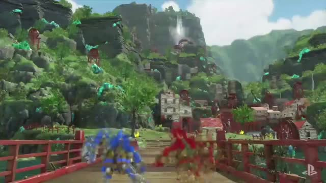 Watch Knack 2 For The PlayStation 4 GIF on Gfycat. Discover more knack 2, kotaku, video game GIFs on Gfycat