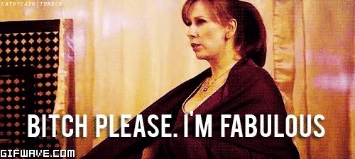 Catherine Tate, fab, imfab, winning, Fabulous GIFs