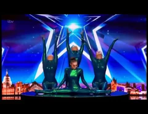 Watch and share BGT 2017 AUDITIONS - ANGORA CONTORTION GIFs on Gfycat