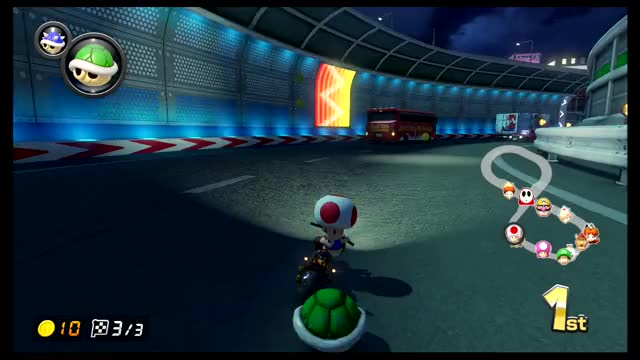 Watch and share Mario Kart - Blue Shell To First Place GIFs by The Legend on Gfycat
