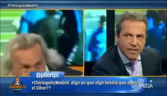 Watch El 'Loco' Gatti intenta agredir a Cristobal Soria GIF on Gfycat. Discover more related GIFs on Gfycat
