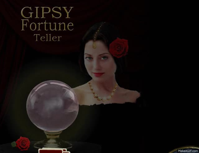 Watch and share Gipsy Fortune Teller ~ Www.gipsyfortune.com ~ Fortune Telling With Playing Cards GIFs on Gfycat