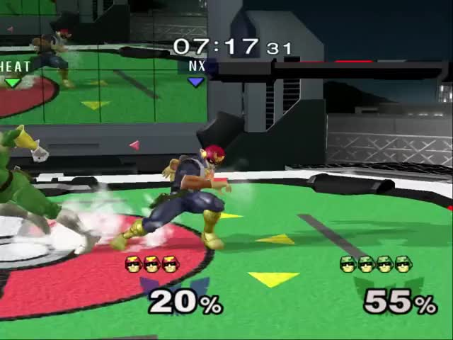 Watch and share Super Smash Bros GIFs and Captain Falcon GIFs by lunaryssf2 on Gfycat