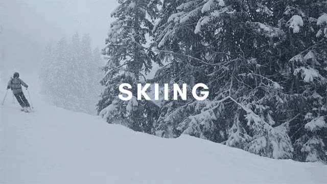 Watch and share Skiing GIFs and Gear GIFs by ADAPT Network on Gfycat