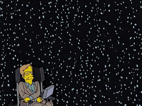 Watch and share Rip Stephen Hawking GIFs and The Simpsons GIFs by Reactions on Gfycat
