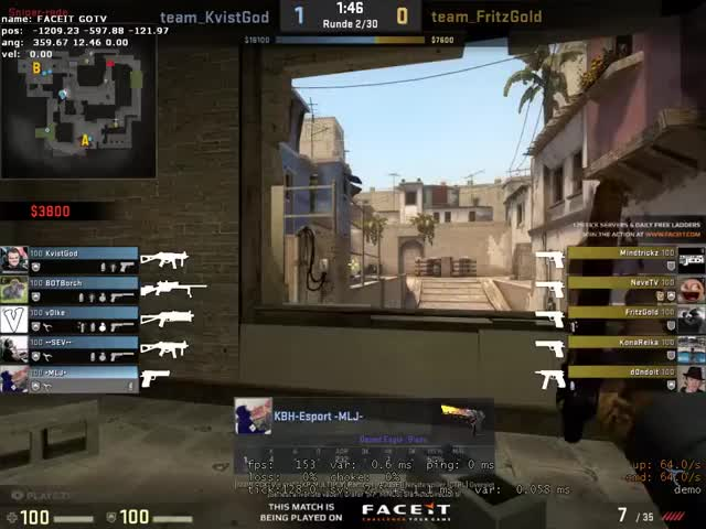 Watch Insane Deagle 3k by MLJ GIF on Gfycat. Discover more GlobalOffensive GIFs on Gfycat