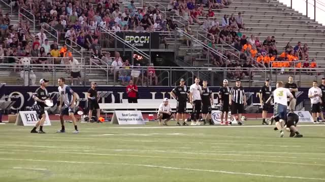 Watch and share Sterling Knoche Chest High INT GIFs by American Ultimate Disc League on Gfycat