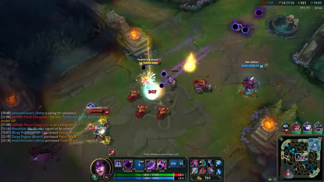 Watch Syndra oneshot GIF on Gfycat. Discover more leagueoflegends GIFs on Gfycat
