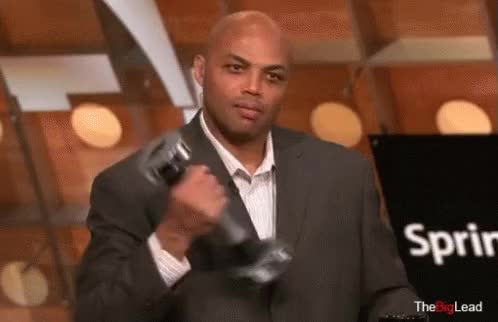 Watch and share Charles Barkley GIFs on Gfycat