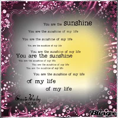Watch and share You Are My Sunshine GIFs on Gfycat