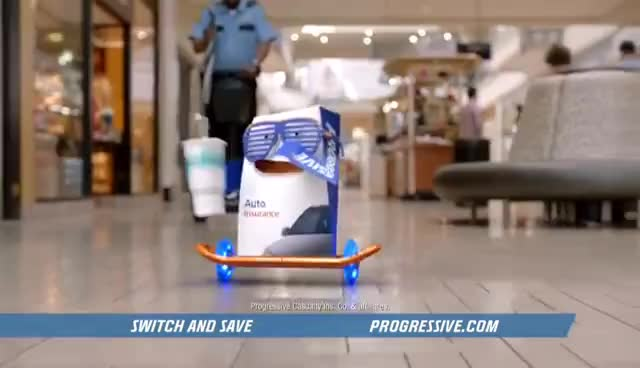 The Mall - Progressive Insurance Commercial GIFs