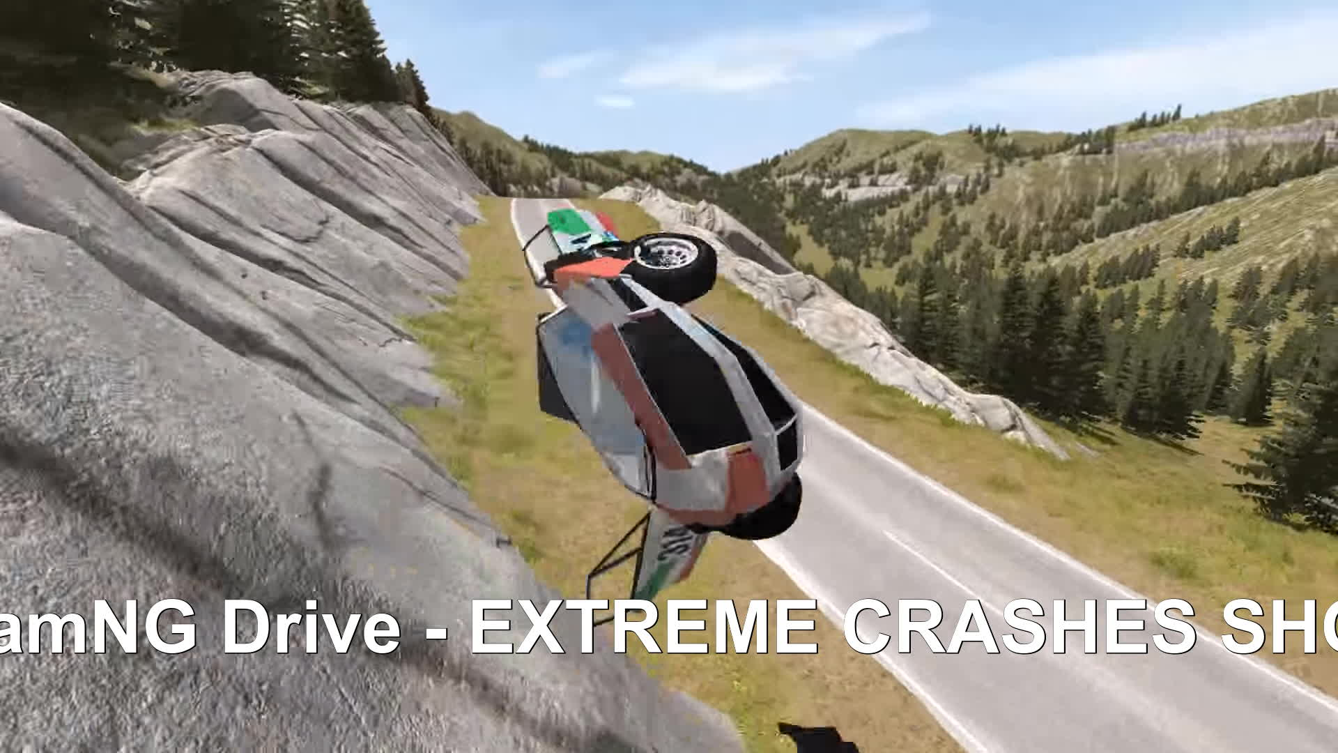 beamng, beamng drive, beamng drive crashes, BeamNG Drive - EXTREME CRASHES SHOW GIFs