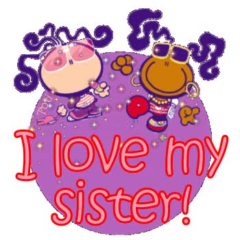 Watch and share Love You Sister Love You Sister Clipart GIFs on Gfycat