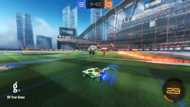Watch Goal 4: Landon GIF by Gif Your Game (@gifyourgame) on Gfycat. Discover more Dgo_, Gif Your Game, GifYourGame, Goal, Rocket League, RocketLeague GIFs on Gfycat
