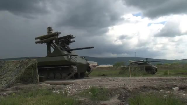 Watch and share Combat Robotic System Uran-9 GIFs by forte3 on Gfycat