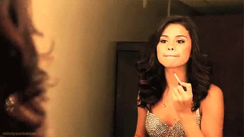 Watch Getting ready (GIF) : SelenaGomez GIF on Gfycat. Discover more related GIFs on Gfycat