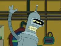 Watch and share High Five, Futurama, Bender, Cartoon, Tv GIFs on Gfycat
