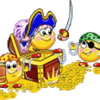 Watch and share Pirate Pirates Jack Sparrow Treasure Chest Gold Smiley Smilie Smileys Smileys Animated Animation Animations Gif Photo: Pirates Treasure Chest Gold Coins Yo Ho Boat Ship Smiley Smilie Smileys Smilies Icon Icons Emoticon Emoticons Animated Animation Animations Gif Gifs Happy Halloween 0009-1.gif animated stickers on Gfycat