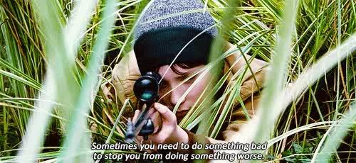 Watch and share Mia Wasikowska GIFs and Gun GIFs on Gfycat