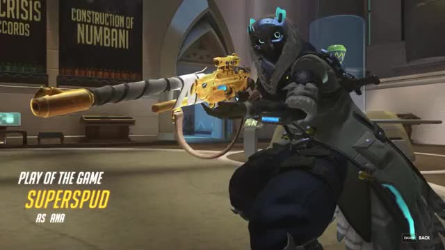 Watch Apparently Possible GIF by Foo (@foo-18) on Gfycat. Discover more Ana, Overwatch, potg GIFs on Gfycat