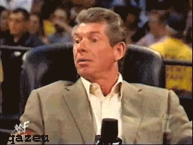 Watch and share Vince Mcmahon GIFs by james.kim202 on Gfycat