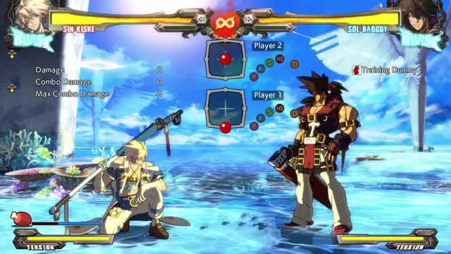 Watch and share GGXrd: Sin Crouching Idle GIFs by snuffychris605 on Gfycat