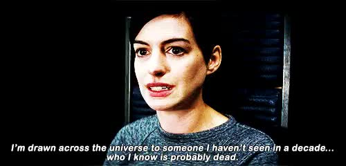 Watch and share Christopher Nolan GIFs and Anne Hathaway GIFs on Gfycat