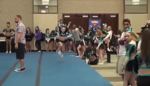 Watch and share Cheer Extreme Youth Elite BATB 2015 GIFs on Gfycat