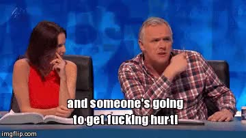 Watch and share Greg Davies GIFs and Susie Dent GIFs on Gfycat