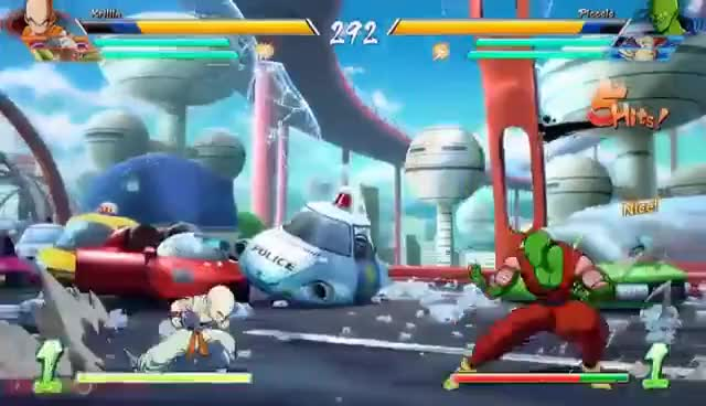 Krillin and 18